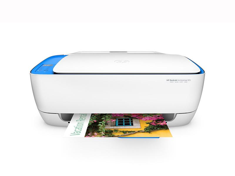 HP Deskjet 3635 AiO pisač 4800x1200dpi brzina: 8.5str/min USB 2.0