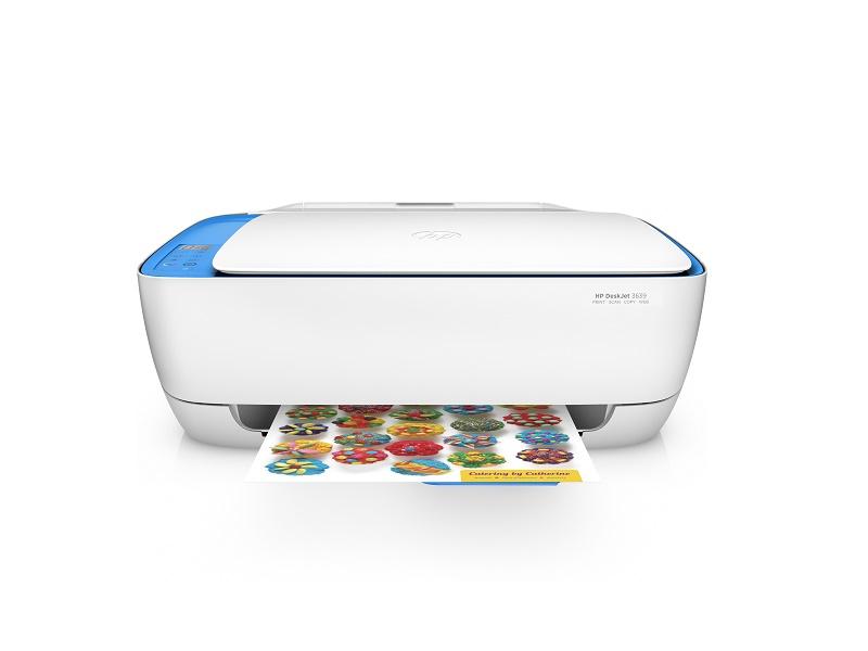HP Deskjet 3639 AiO pisač 4800x1200dpi brzina: 8.5str/min USB 2.0 WiFi print/scan/copy/ePrint