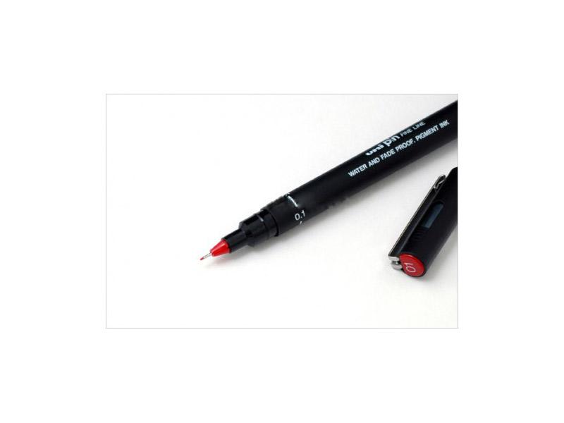 Marker Uni PIN01-200 crveni
