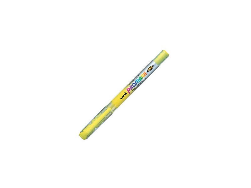 Marker Uni USP-105 za tekst žuti