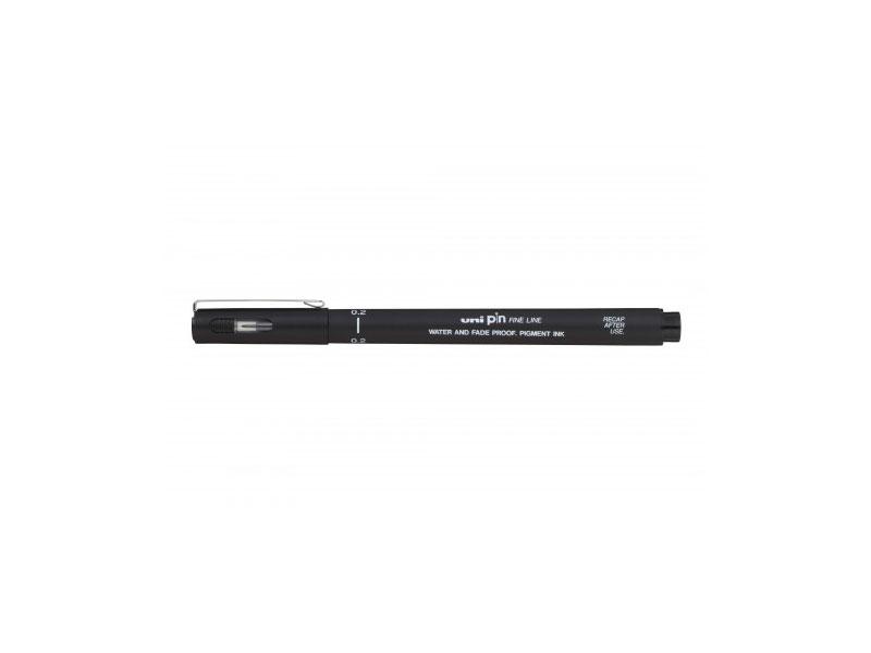 Marker Uni Pin 02-200 crni