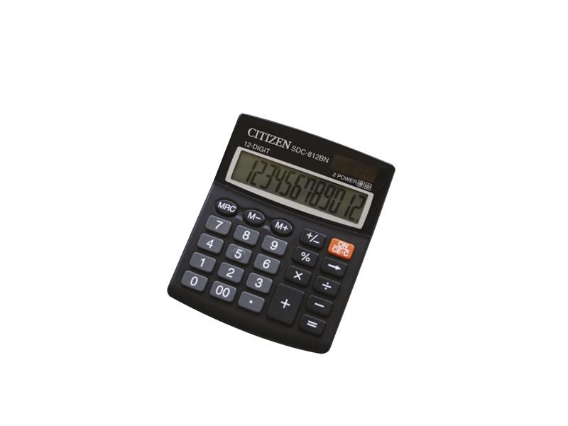 Citizen SDC-812BN kalkulator komercijalni 12 mjesta