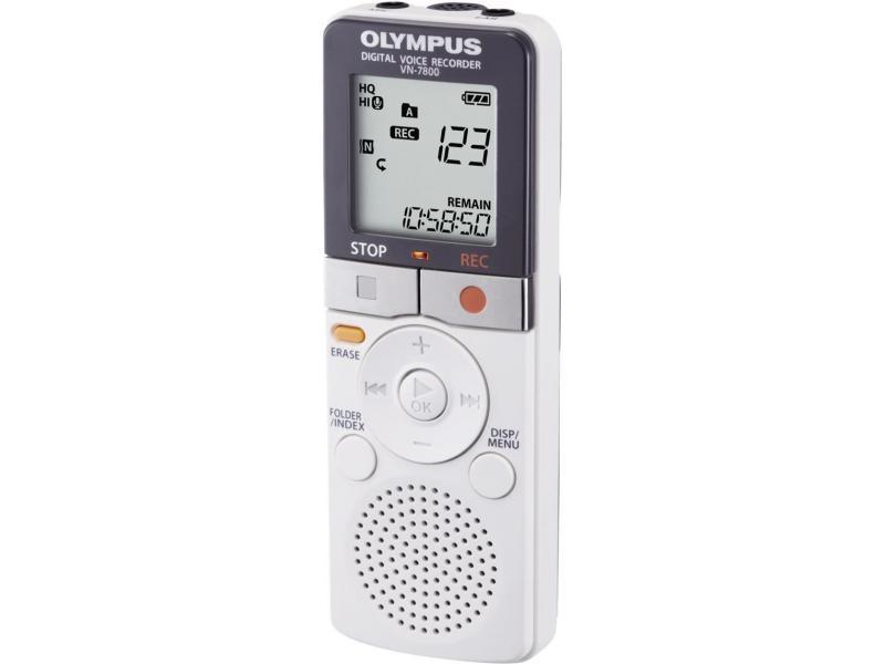 Olympus VN-7800 diktafon 4GB 2200 sati