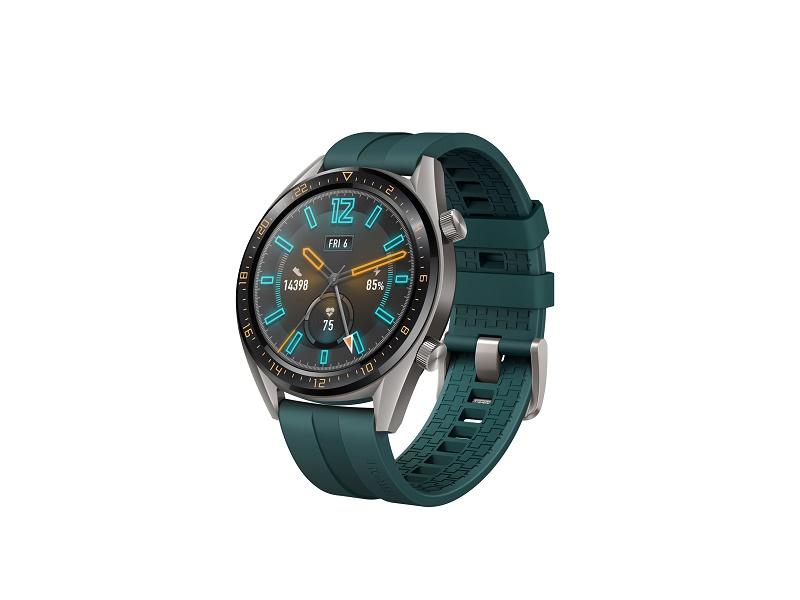 Huawei Watch GT pametni sat tamnozeleni  / titan sivi