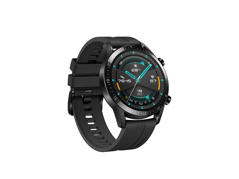 Huawei Watch GT2 46mm pametni sat crni Sport