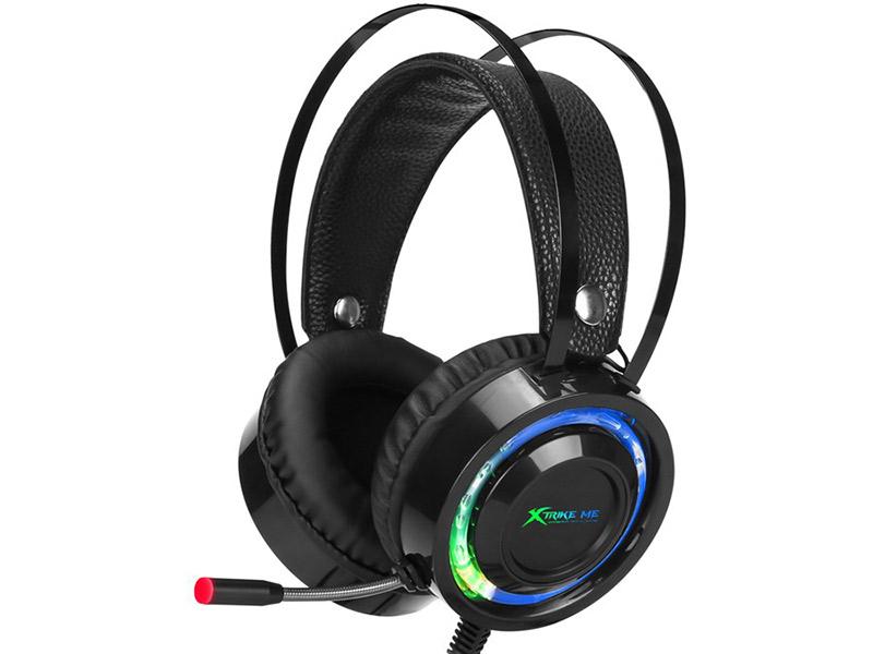 Xtrike Me GH-708 salušalice s mikrofonom Gaming RGB