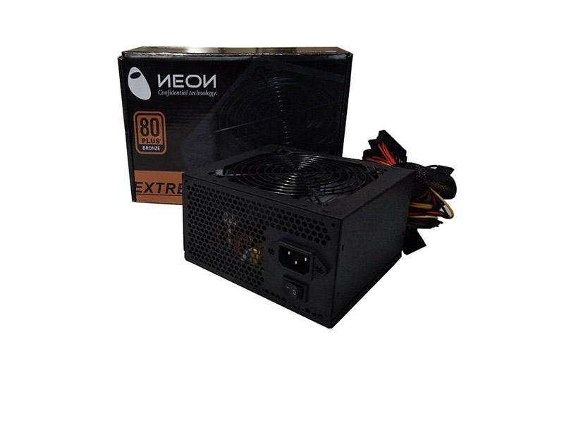 Neon 500W 80+ Bronze napajanje 120mm