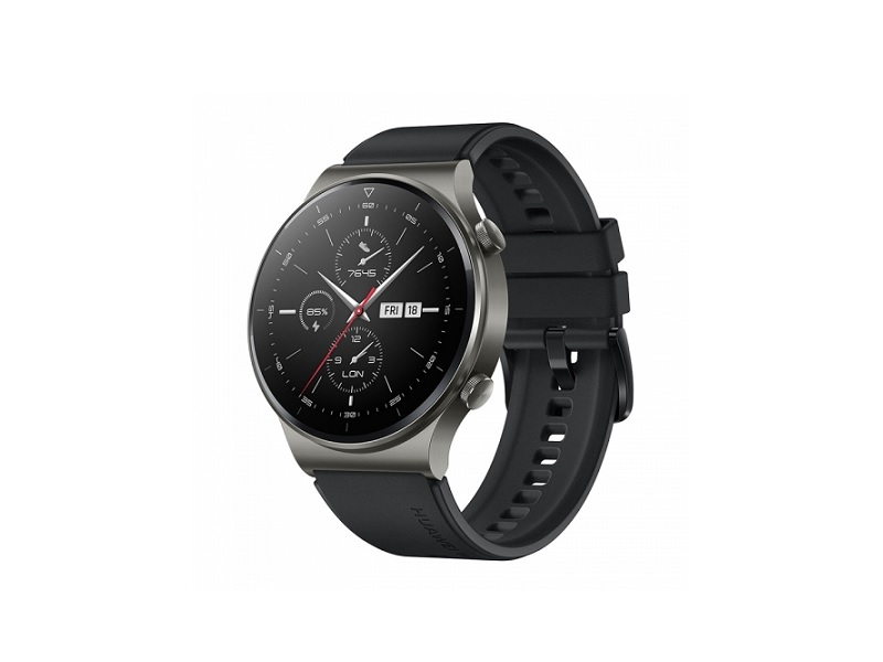 Huawei Watch GT2 Pro Night Black pametni  sat sa crnim kožnim remenom