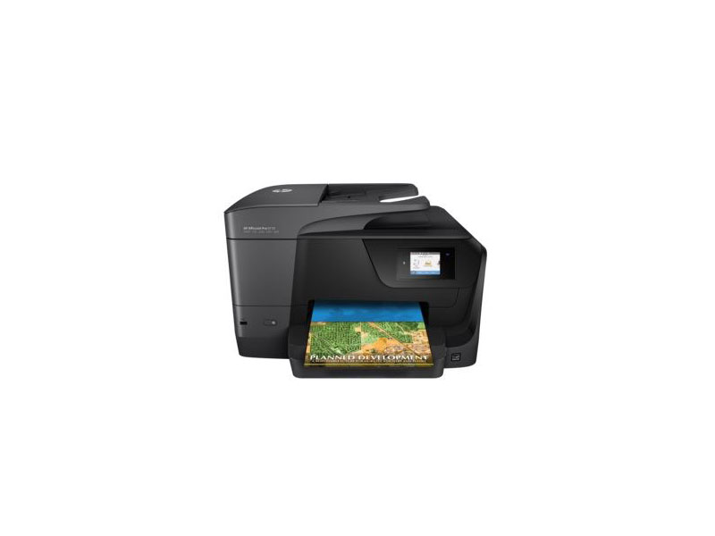 HP Officejet Pro 8710 pisač 4800x1200dpi brzina: 35str/min USB 2.0 print/scan/copy WiFi LAN ADF