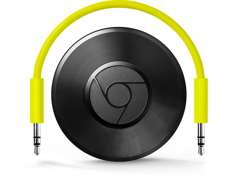 Google Chromecast Audio Media player