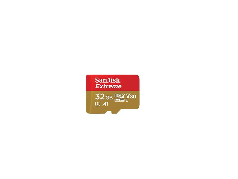 SD micro memorijska kartica 32GB SanDisk Extreme 100MB/s V30 class 10 UHS-I U3