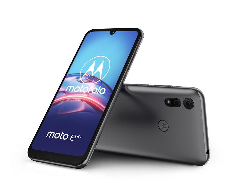 Motorola E6s mobitel Meteor Gray 6.1