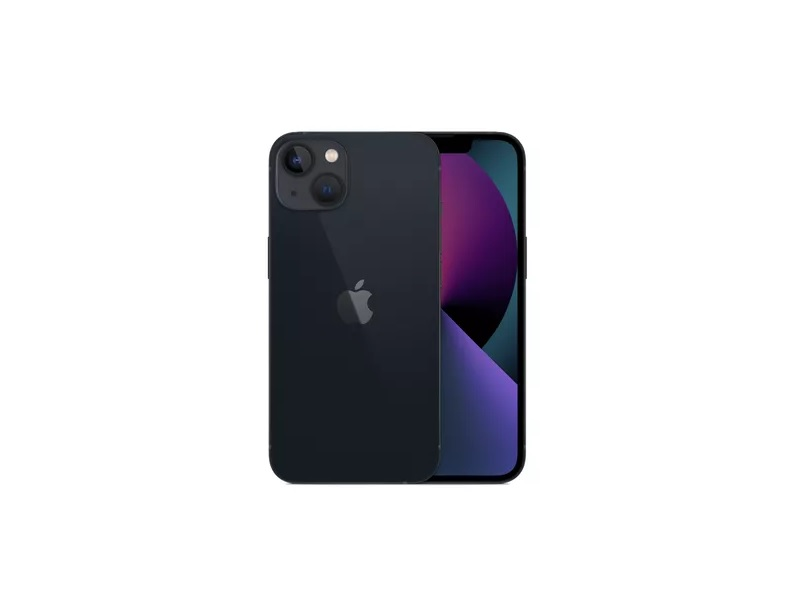Apple iPhone 13 256GB mobitel crni Hexa-core, 4 GB RAMa, 256 GB, 12+12Mpix/12Mpix, 5G, fingerprint