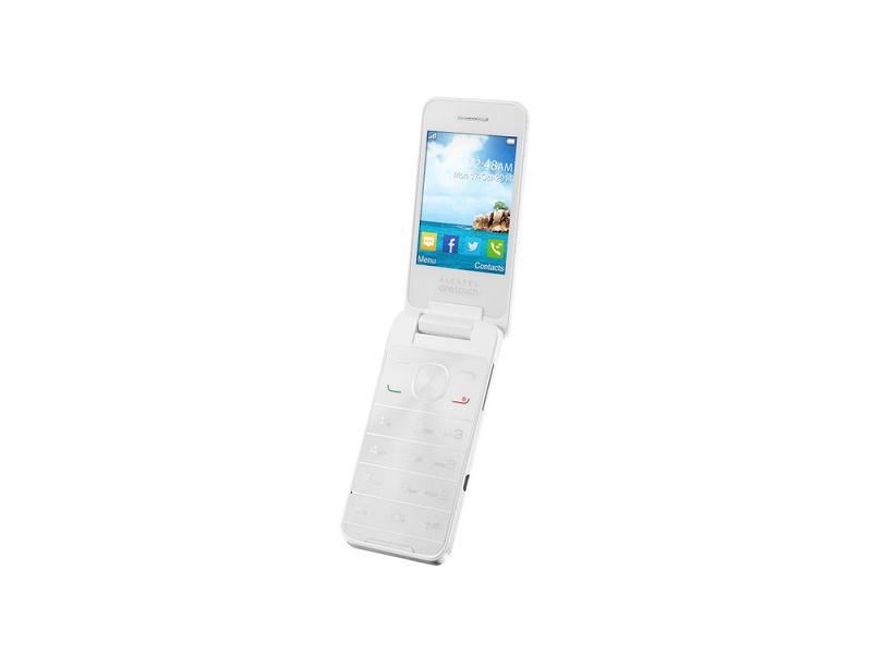Alcatel OT-2012 DS mobitel bijeli 2.8