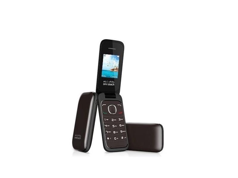 Alcatel OT-1035D mobitel smeđi 1.8