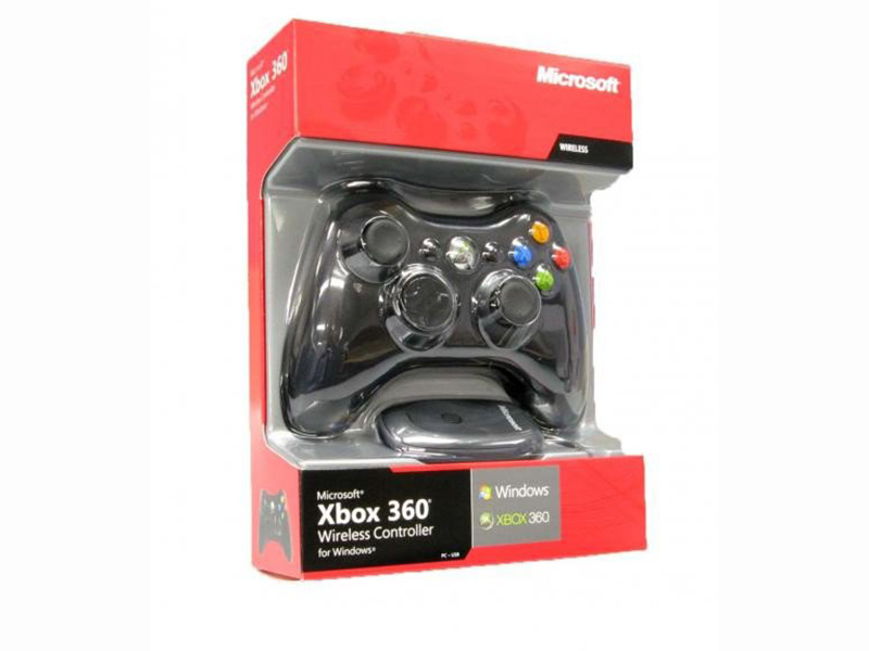 Microsoft X-Box 360 gamepad bežični za PC