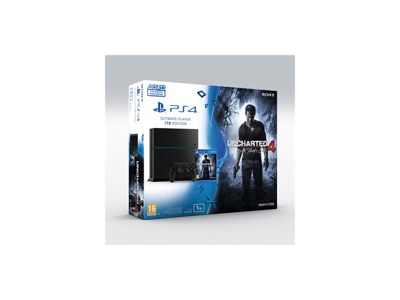 Playstation 4 1Tb + Uncharted 4: A Thiefs End