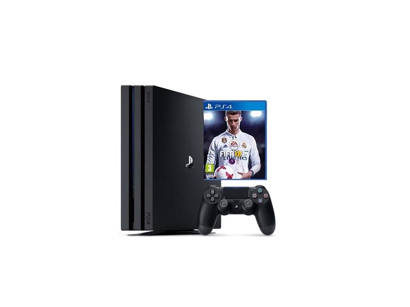 Playstation 4 konzola 500GB + Fifa 18