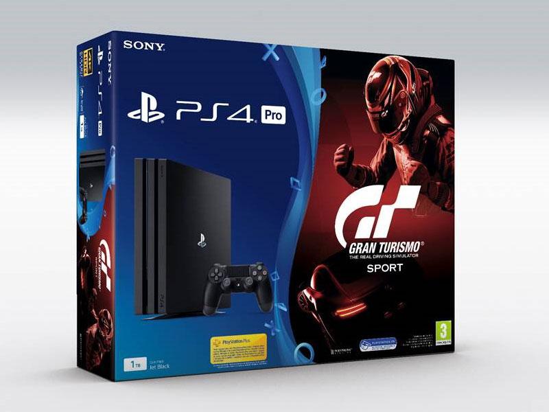 Playstation 4 Pro 1TB konzola + Gran Turismo Sport