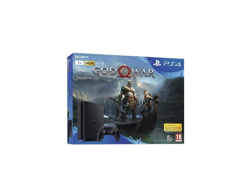 Playstation 4 1TB + God of War