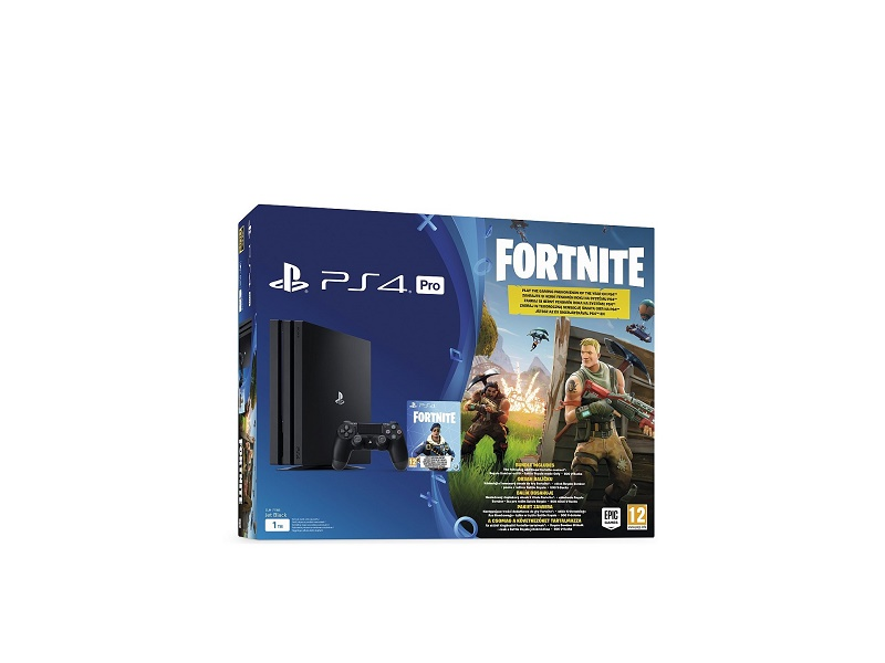 Playstation 4 Pro 1TB konzola + Fortnite VCH