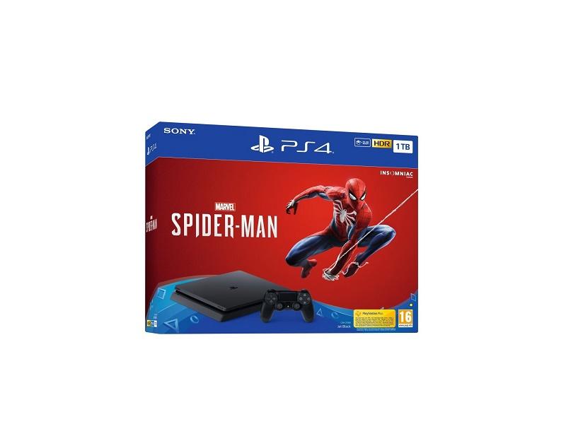 Playstation 4 1TB + Spider-Man