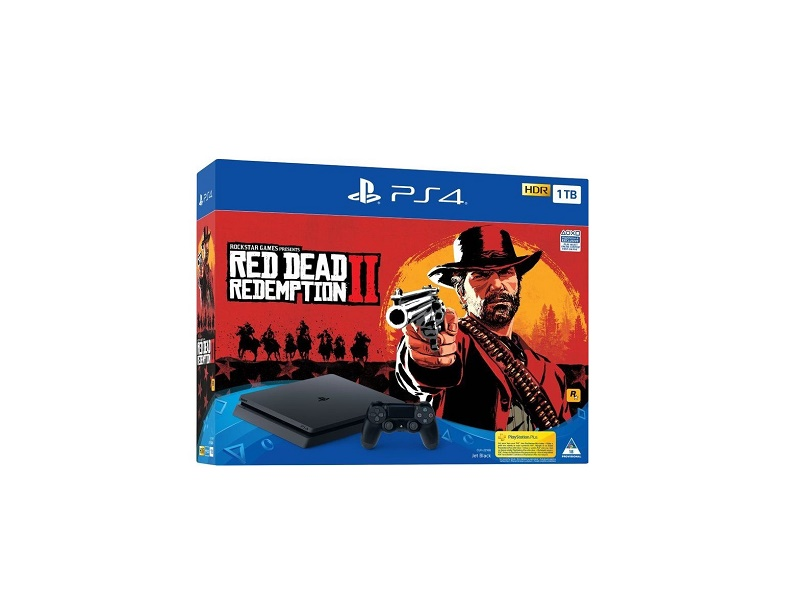 Playstation 4 1TB + Red Dead Redemption 2
