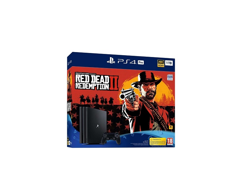 Playstation 4 Pro 1TB konzola + Red Dead Redemption 2