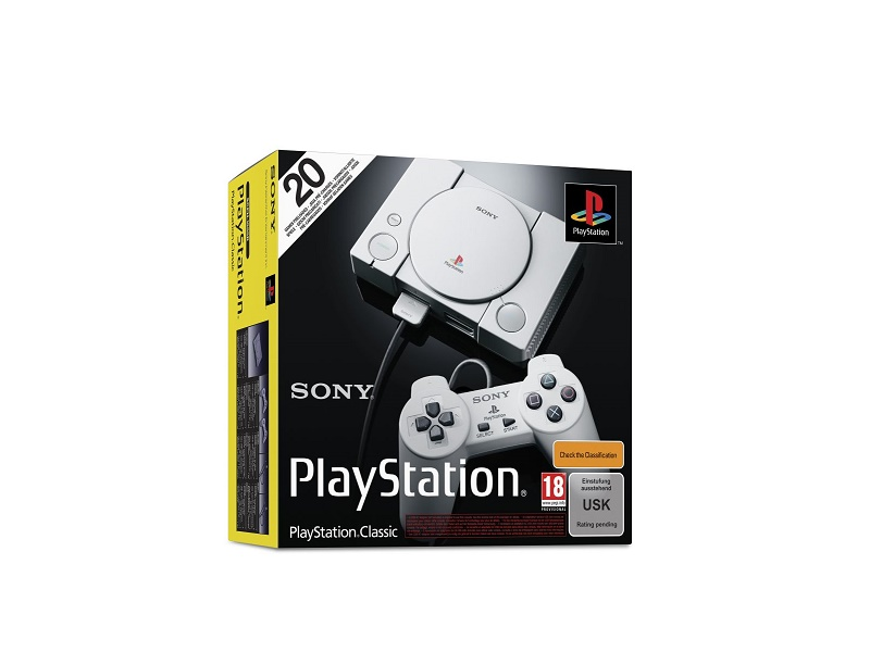 Playstation Classic konzola sa 40 igri