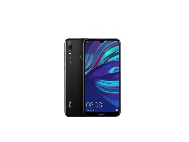 Huawei Y7 2019 DS crni mobitel 6.26