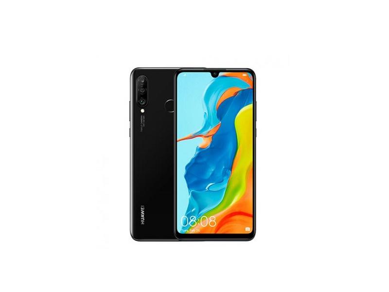 Huawei P30 Lite DS crni mobitel + vaga  6.15