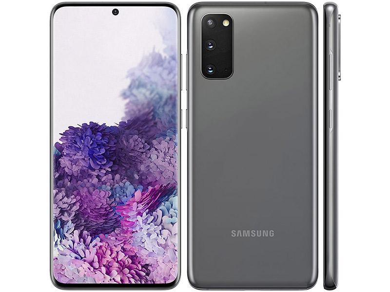 Samsung S20 mobitel sivi Space Grey  6.2