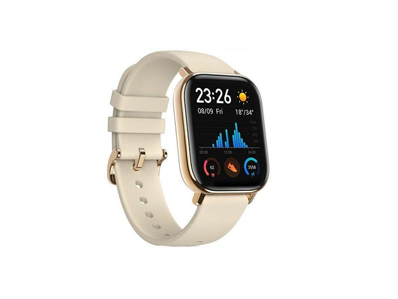 Xiaomi Amazfit GTS pametni sat zlatni smartwatch Desert Gold
