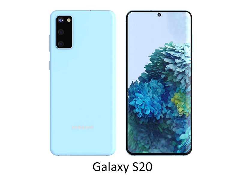 Samsung S20 mobitel Nebesko plavi  6.2