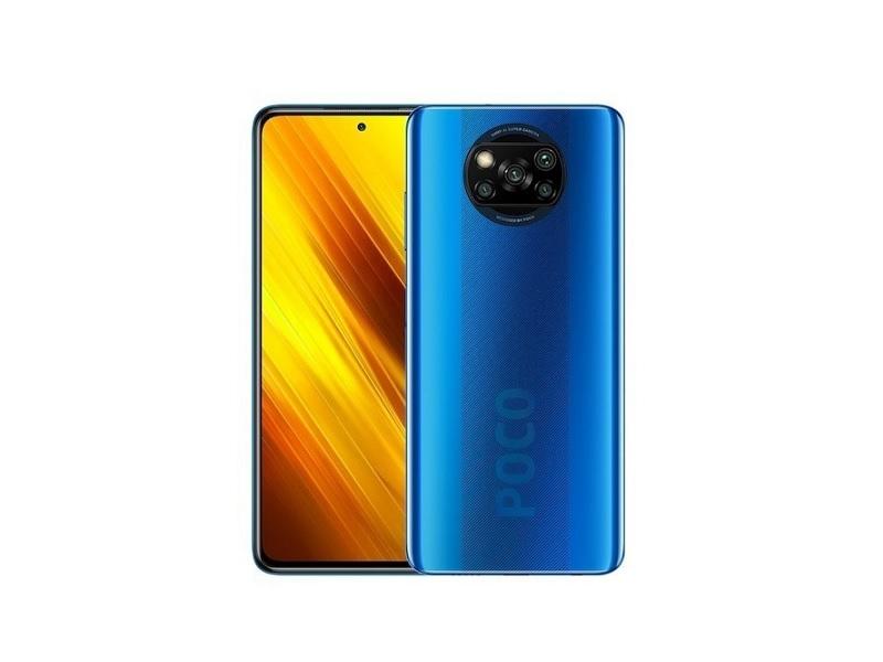 Xiaomi POCO X3 NFC 6/64GB mobitel  plavi 6.67