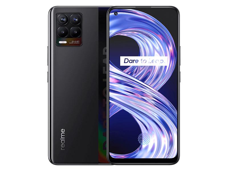 Realme 8 Pro crni mobitel 6.4