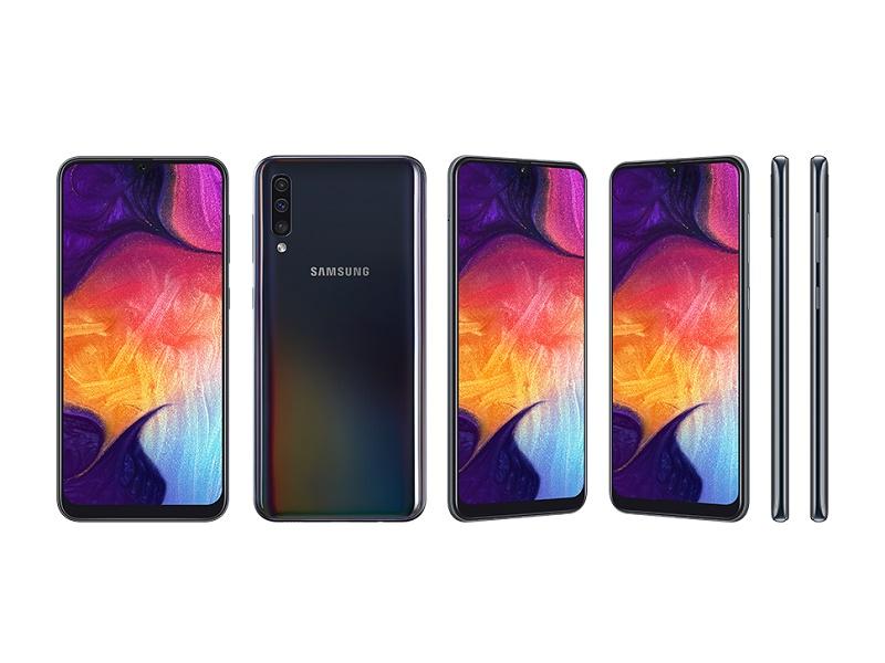 Samsung A50 A505FN DS mobitel crni 6.4