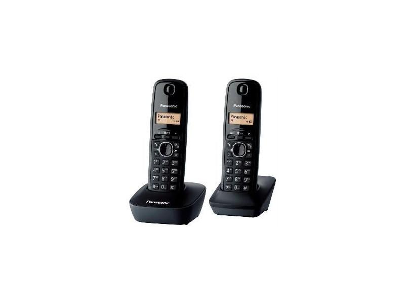 Panasonic KX-TG 1612FXH telefon (set sa 2 slušalice)