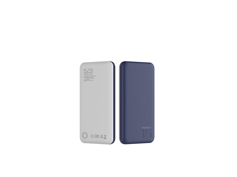 Puridea S3 Power Bank 15000mAh plavi