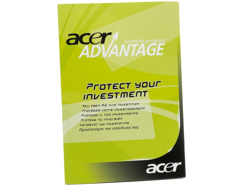 Acer produženo jamstvo na 3god.