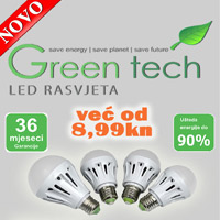 Green Tech LED rasvjetni program